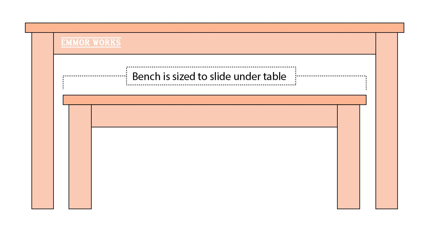 Baals Table for Bench Length Example Diagram-01