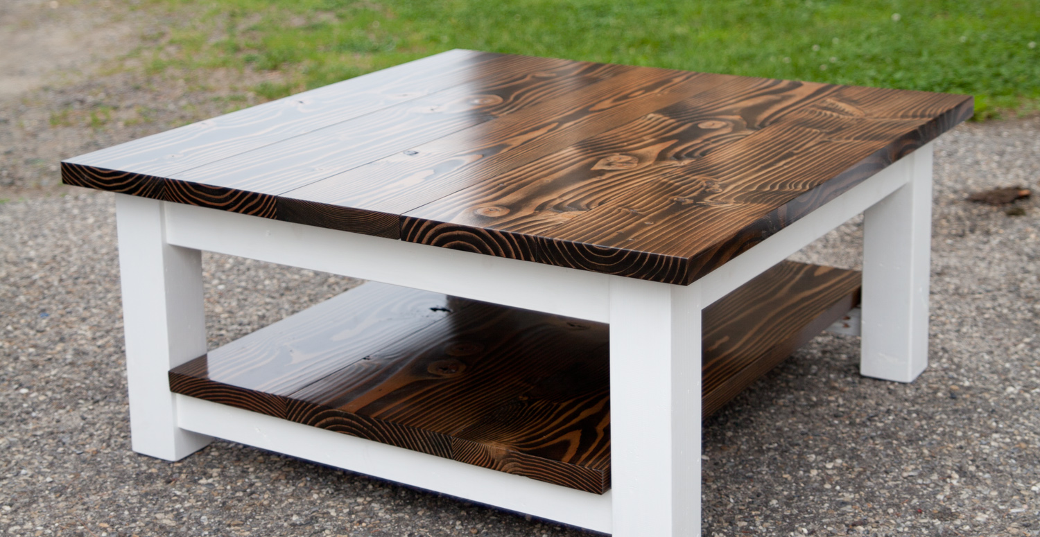 How To Make A Coffee Table Part - 27: Coffee Table Farmhouse Thumbnail 001