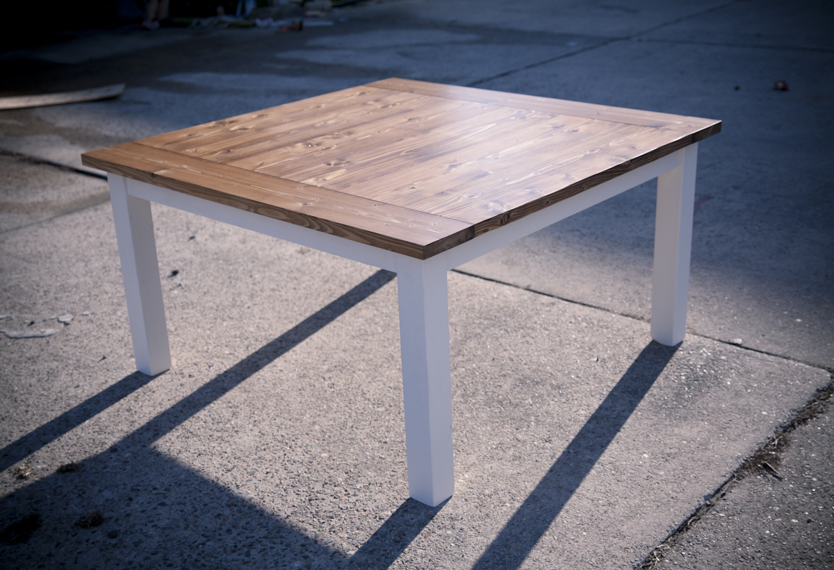 Square Farmhouse Tables