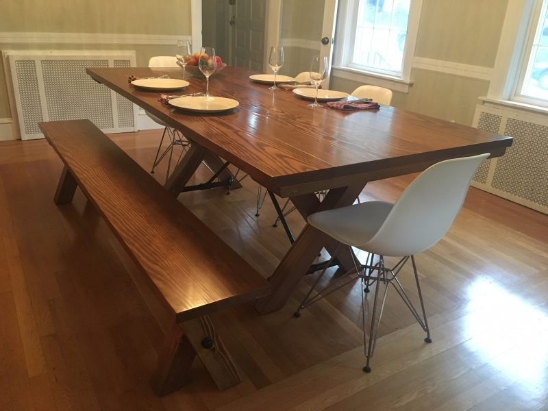 7′ Trestle Style Table