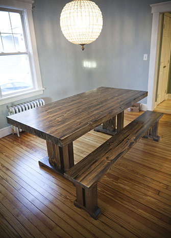 Butcher Block Style Table Fully Customizable Emmor Works