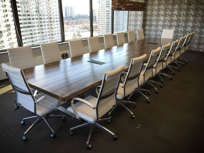 Turkish Steel Conference Tables Created For Meetings