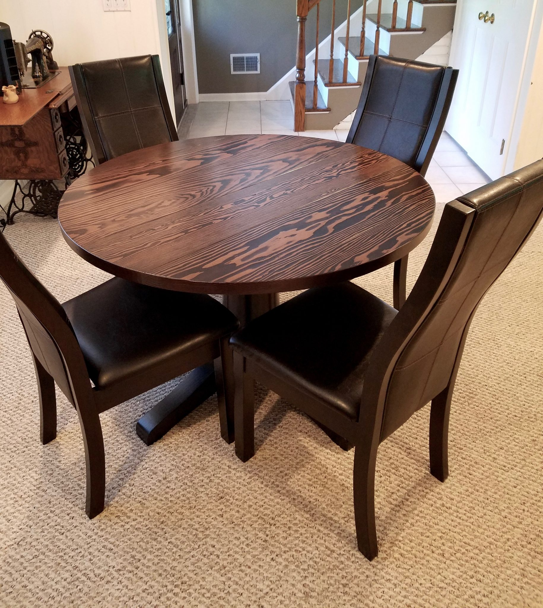 Round Tables Solid Wood Craftsmanship Emmor Works