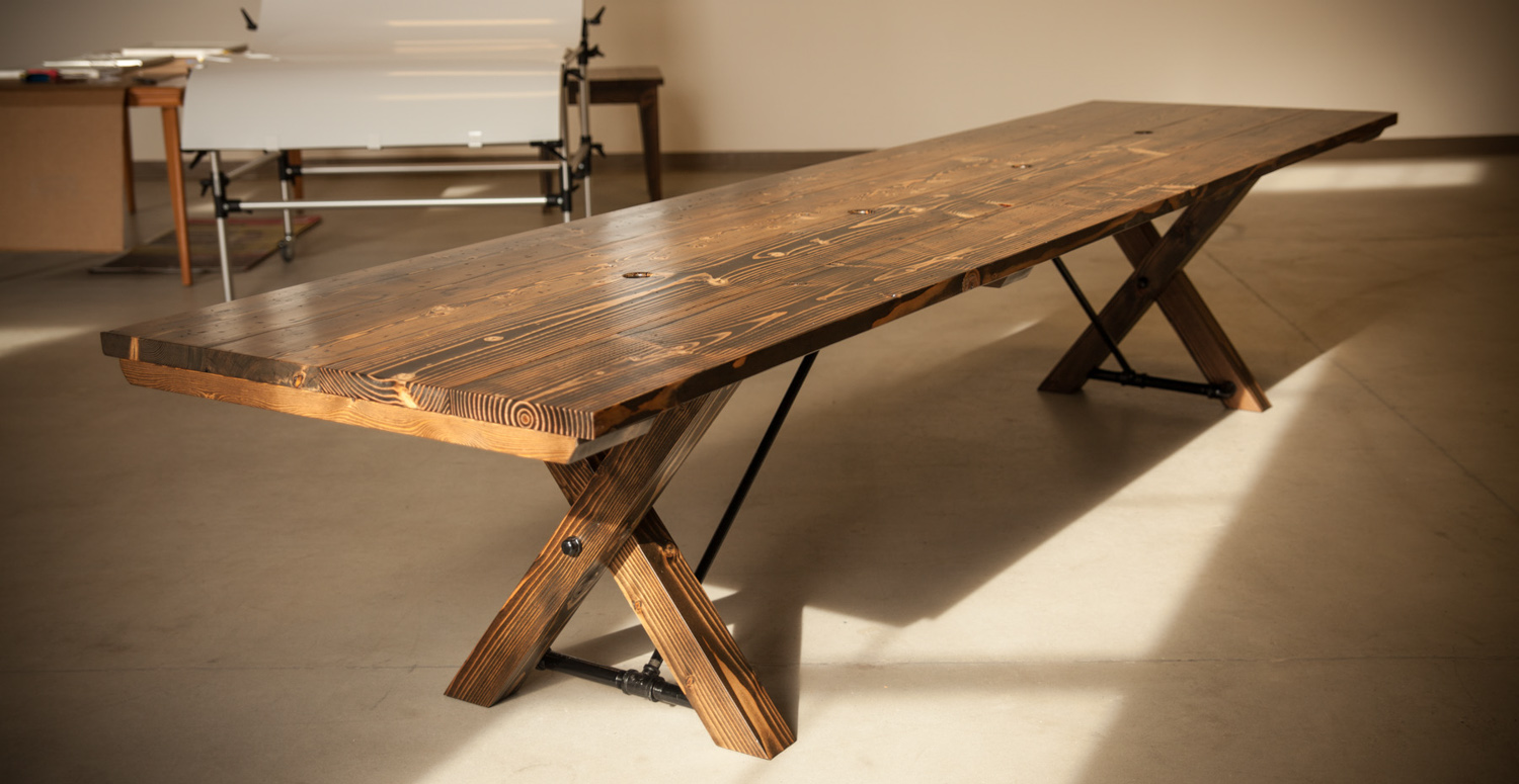 Emmorworks - Homemade conference table