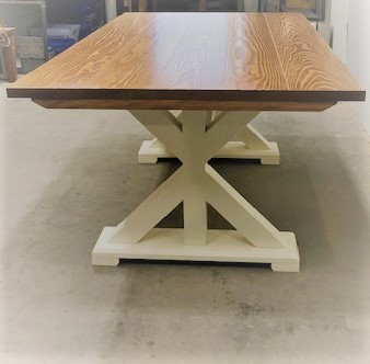 Emmor Works X Base Pedestal Table